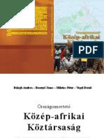 Országismertető Közép-afrikai Köztársaság