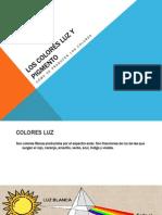 Colores Luz y Pigmento