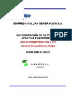 Informe CC CT Kallpa