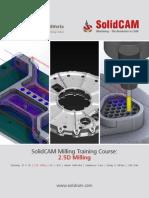 SolidCAM 2013 Milling Training