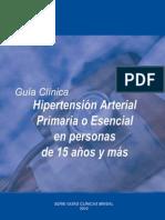 Guia Hipertension MINSAL 2010