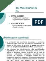 Técnicas Modificación Superficial