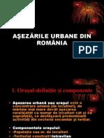 Aşezările Urbane Din România