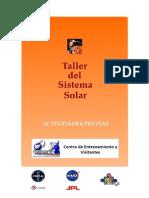 Actividades Previas (Sistema Solar)