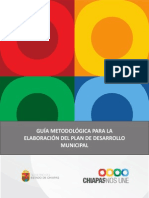 Guia Formulacion Plan Des. Mpal. Chiapas