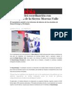 15-02-2015 Sexenio Puebla - Se Mantendrá Coordinación Con Municipios de La Sierra; Moreno Valle