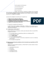 Los Documentos Obligatorios de La Norma ISO 22000