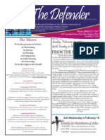 St Michael's Bulletin 02/15/2015