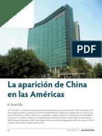 La Aparicion de China en Las Americas - R Evan Ellis