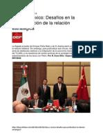 China y México - Desafíos en La Profundización de La Relación Estratégica - R Evan Ellis