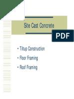 Site Prestress Concrete
