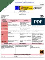 Hoja de Seguridad Benzaldehido (1)