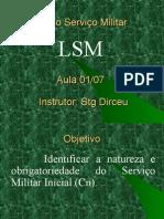 Lei Do Serviço Militar - Aula 1