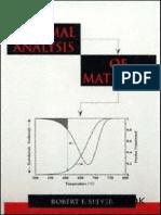 Thermal analysis of materials.pdf