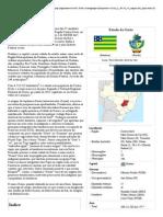 Realidade Etnica de Goiás