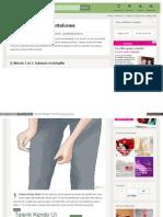 Cómo Modificar Pantalones [Wikihow]