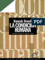 La condición humana - Arendt