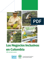 Los Negocios Inclusivos en Colombia