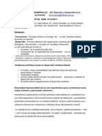 Documento Taller Apego y Desarrollo