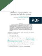 Multibranch forging algorithms