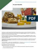 Thermorecetas.com-Filetes de Pavo Rellenos Para Navidad