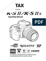 Pentax K-5 II operating manual (English)