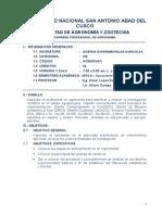 Silabo Agronomia diseu00F1os