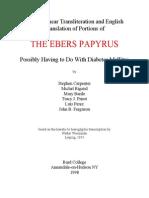 Ebers Papyrus-egypt Medicine