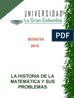 La Historia de La Matemática y Sus Problemas (UGC)