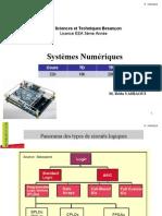 Part01 COURS Systèmes Numeriques 2014 2015