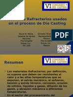 Materiales Refractarios Usados en El Proceso de Die Casting