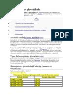 Hemoglobina glucosilada