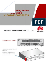 Comisionamiento DBS3900 Huawei