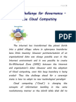 Next Challenge for Governance Cloud Computing