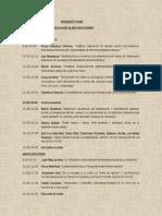 Programa TASIRA 2014