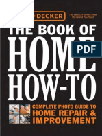 Black & Decker the Book of Home How-To (Reduced)
