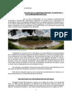 Contaminacion Petrolera en Peru. Pluspetrol y Las Comunidades Indigenas. Big Madero