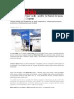 16-02-2015 Sexenio Puebla - Sustituye Moreno Valle Centro de Salud de Más de 50 Años en Calpan
