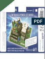 Vellman k8071 1W-3W Power LED Driver Kit
