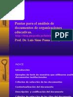 20090902-Pautas Para El Analisis de Documentos de Organizaciones