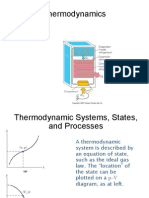 Thermodynamics Refrigerator Notes