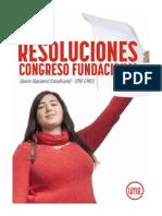 Union Nacional de Estudiantes Chile - Resoluciones