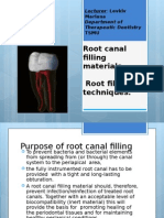 5 Root Canal Filling Materials