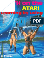 FORTH on the Atari Learning by Using