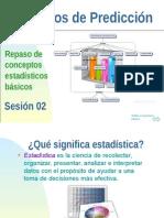 Metodos de Prediccion - Sesion 02