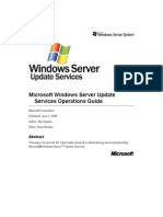 Ws Us Operations Guide