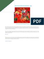 Warna Merah Dalam Kehidupan Masyarakat Cina