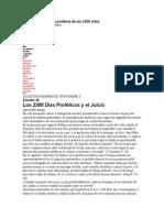 Diagrama Total de La Profecía de Los 2300 Años