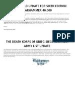 Dkk Siege List