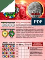 Mi Primer Calendario 13 Lunas 2014-2015